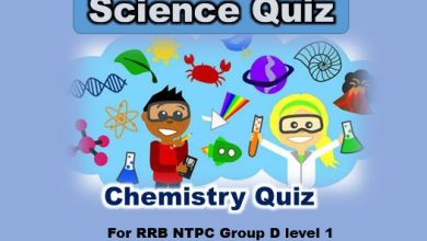 Photo of RRB NTPC Chemistry Questions in Hindi {2020}*