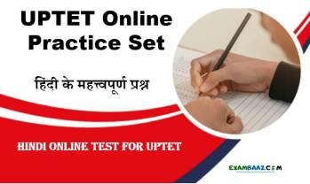 UPTET Hindi Online Test
