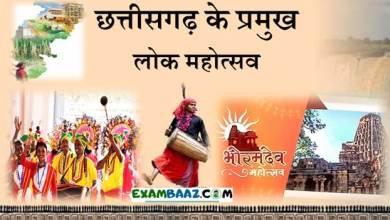 Photo of Chhattisgarh ke Pramukh LokMahotsav (छत्तीसगढ़ सामान्य ज्ञान)