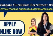 Photo of Telangana Gurukulam Teachers Recruitment 2020: Apply Online for 160 Teacher Post