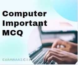 Computer Questions For Delhi Police Constable