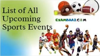 List of All Upcoming Sports Events 2021 || आगामी सभी खेल प्रतियोगिता