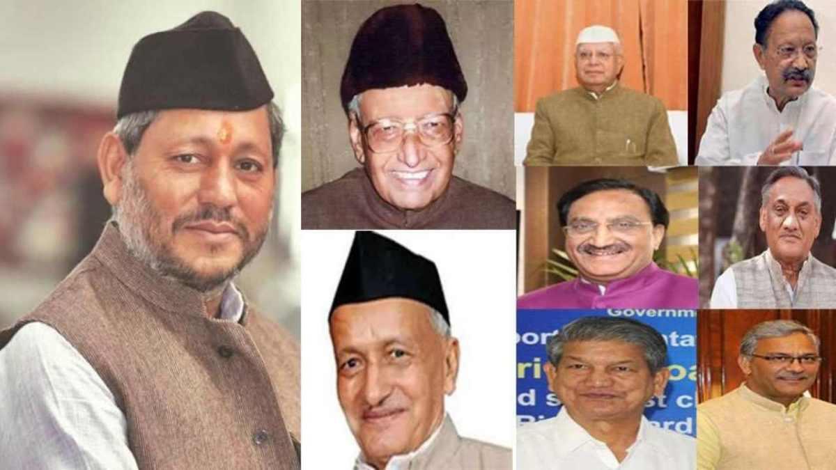 List of chief minister of Uttarakhand since 2000