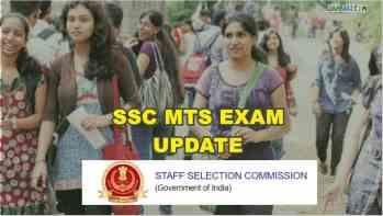 ssc mts exam update 2021