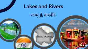 Lakes and Rivers of Jammu and Kashmir GK Questions