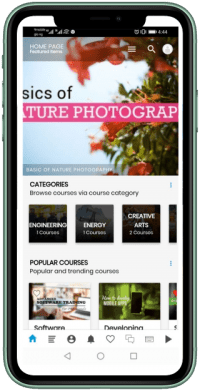 Online Learning Via Your Mobile Phone