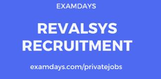 Revalsys recruitment
