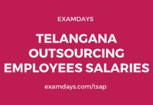 telangana outsourcing employees salaries
