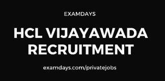 hcl vijayawada recruitment