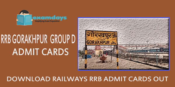 Download RRB Gorakhpur Group D Admit Card