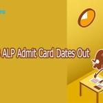 Railways RRB ALP Admit Card Exam Dates Out 2018