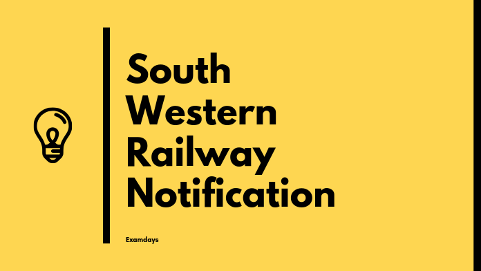 South Western Railway Notification