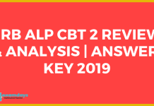RRB ALP CBT 2 Review & Analysis