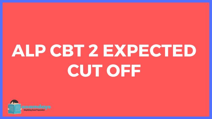 rrb alp cbt 2 cut off 2019