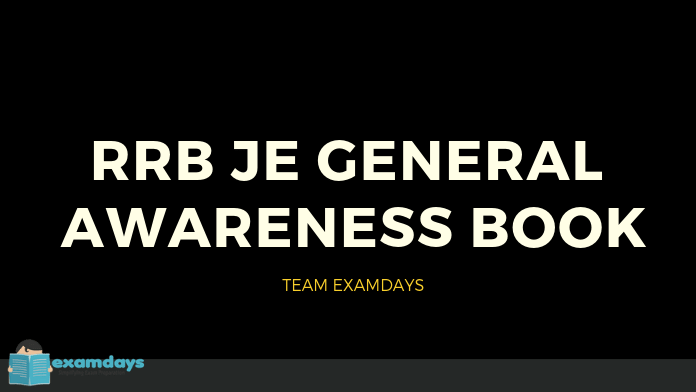 Latest RRB JE General Awareness Book PDF 2019