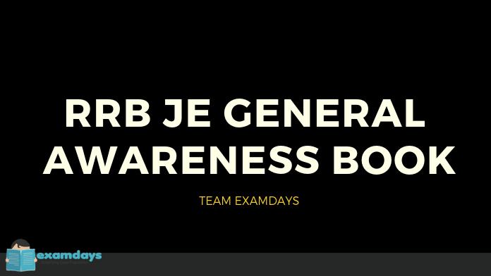 rrb je general awareness book