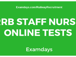 rrb-staff-nurse-online-test