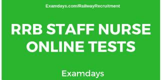 rrb-staff-nurse-online-test