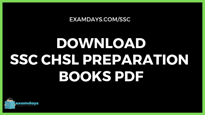 Latest SSC CHSL Book PDF Download 2019 in Hindi English