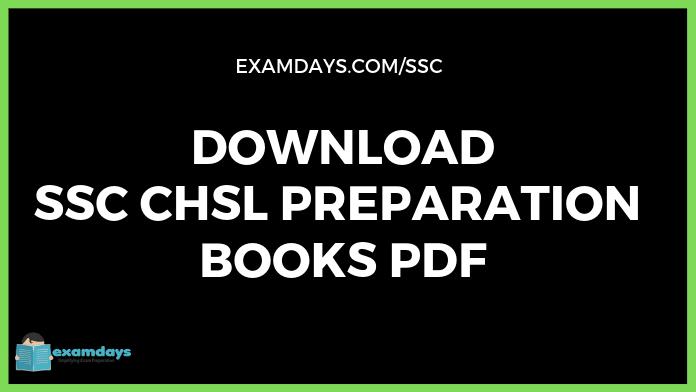 ssc chsl books pdf