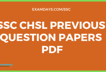 ssc chsl previous papers pdf