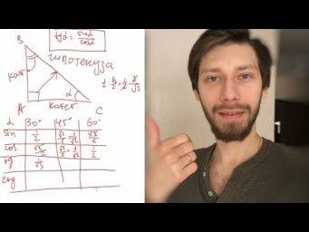 Что такое синус, косинус, тангенс и котангенс — ЭкзаменТВ