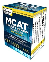 Princeton Review MCAT Complete Set 7 Books