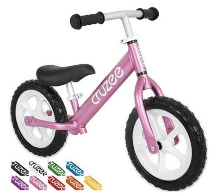 Bicicleta de equilibrio para niños ultra liviana Cruzee