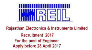 rajasthan electronics & instruments limited(reil) recruitment 2017