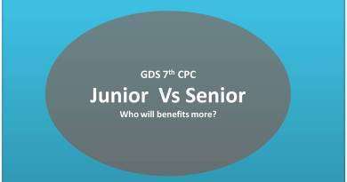 GDS Junior vs Senior Comparison