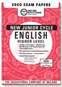 New JC Higher Level English
