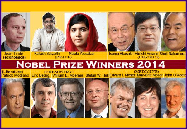 Nobel Prize Winners 2014 - General Awareness Study ...