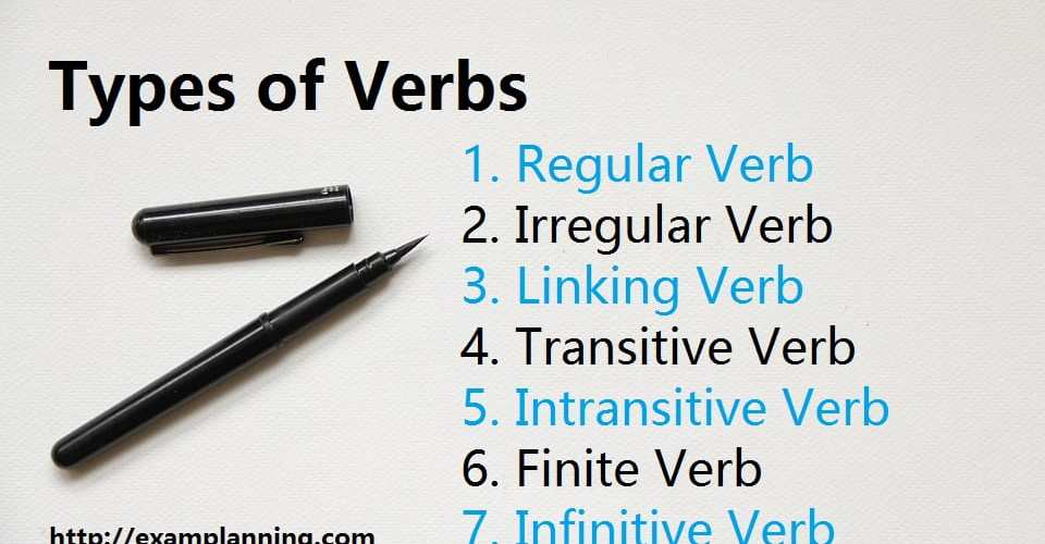 types-of-verbs-with-examples