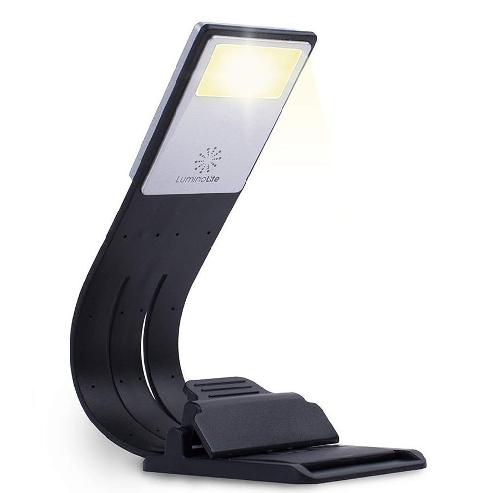 LuminoLite 3000K Warm LED Bookmark Book Reading in Bed