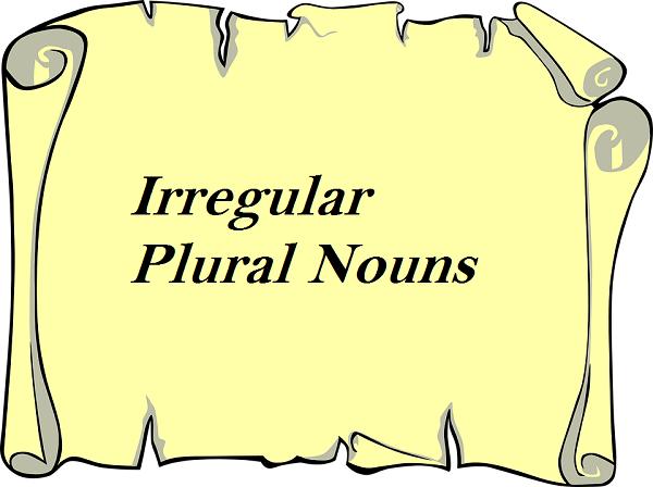 Irregular-Plural-Nouns