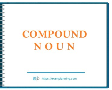 what is a compound noun
