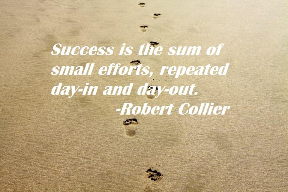 college success quote