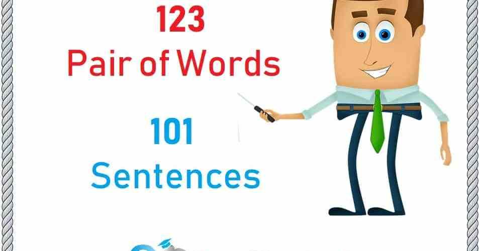 123-Pair-of-Words-List-101-Sentences
