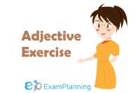 adjective exercises