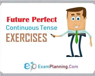 future perfect continuous tense exercise