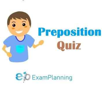 preposition quiz