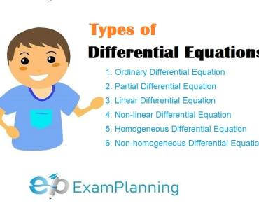 types of differential equations