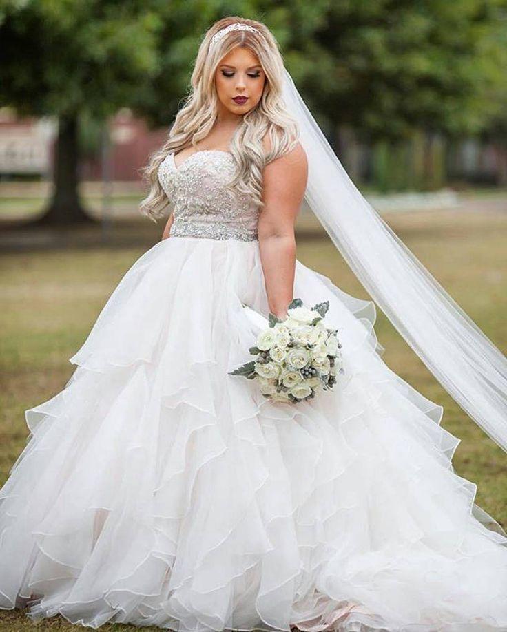 Empire waist wedding dress