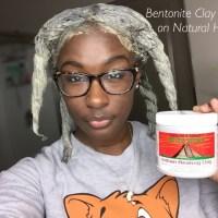Bentonite Clay Mask Treatment for Natural Hair