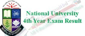 national university honors 4th year exam result 2014