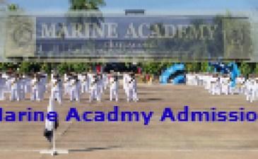 Bangladesh Marine Academy Admission Circular