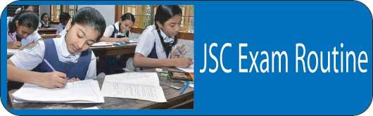JSC Routine 2017 Bangladesh