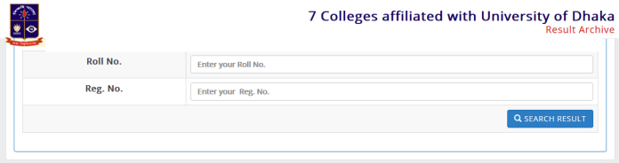 DU Affiliated 7 College 2nd year Result