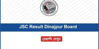 JSC Result 2018 Dinajpur Board