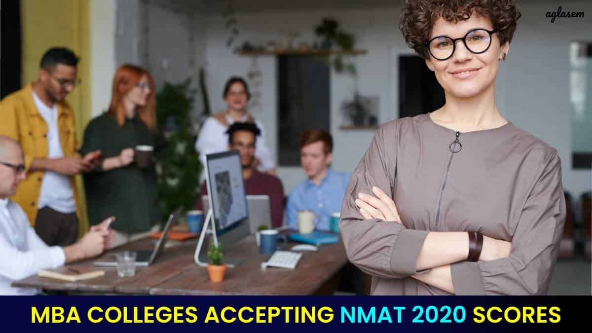 MBA Colleges Accepting NMAT Score 2020
